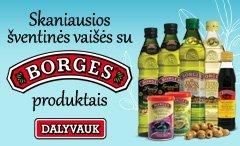 Skaniausios šventinės vaišės su BORGES produktais!