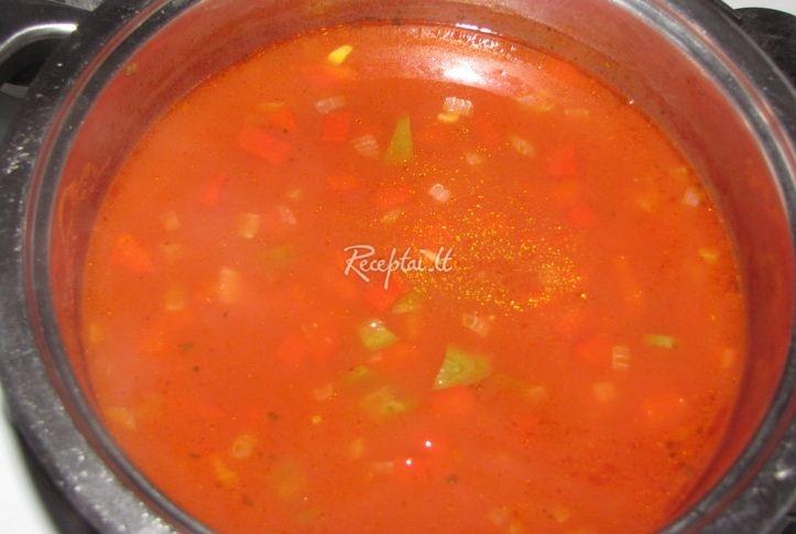 Pomidorinė Sriuba Receptas Receptailt