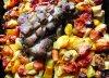 Citrininė karka su keptomis daržovėmis