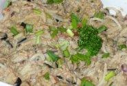 Makaronai su tunu ir baklažanais