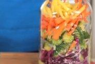 Iškylos salotos su morkomis