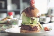 Naminis chorizo burgeris