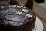 Sacher tortas Kalėdoms