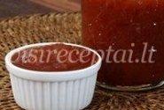 Arvydo kepintų pomidorų kečupas