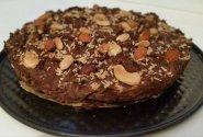 Pupelių chocolate brownie