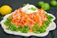 Gaivios morkų ir ridikėlių salotos