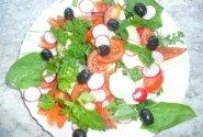 Špinatų ir Mocarela sūrio salotos