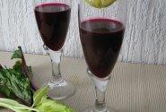 Burokėlių, obuolių, morkų, salierų gėrimas