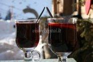 Karštas vynas nuo kosulio