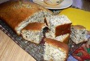 Paprastas pyragas su aguonomis