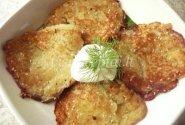 Bulviniai blynai su sezamais