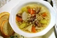 Avienos sriuba su ropėmis
