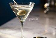 """""""Martini Dry"""" kokteilis"""