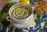 Bulvių ir špinatų sriuba
