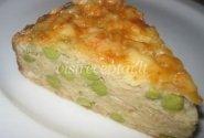 Kopūstų pyragas su žirniais