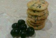 Sūrio sausainiai su alyvuogėmis