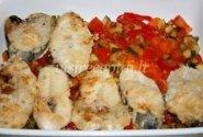 Žuvies ir daržovių apkepas