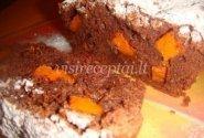 Šokoladinis pyragas su moliūgais
