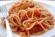 Spagečiai su pomidorų padažu