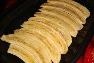 Varškės pyragas su bananų įdaru