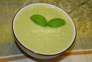 Arvydo pertrinta brokolių sriuba