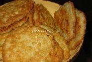 Bulviniai blynai iš tarkuotų bulvių