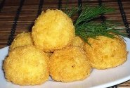 Bulvių ir lašišos kukuliai