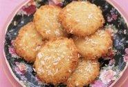 Sausainukai su kokosų drožlėmis