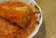 Pomidorų padaže keptas šamas