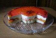 Biskvitinis vaisinis tortas