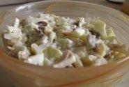 Kalmarų salotos su kiaušiniais