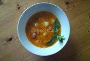 Aštri bolonezo sriuba su sūriu