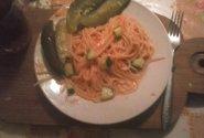 Ideali vakarienė (spageti su daržovėmis)