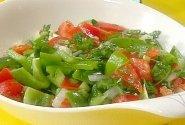 Ankštinių pipirų salotos