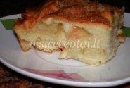 Karolio obuolių pyragas