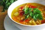 Įvairių daržovių sriuba