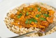 Arvydo kepinti ryžiai su kardamonu