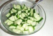 Agurkų salotos iš Kinijos