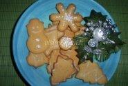 Kalėdiniai imbieriniai sausainiai