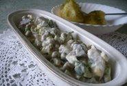 Silkės salotos su kiaušiniais