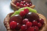Tartaletės su vaisiais