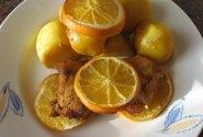 Vištiena su apelsinais