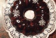 Kakavinis pyragas su šokoladiniu glaistu