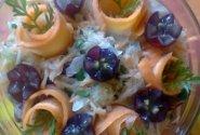 Kopūstų salotos su vynuogėmis