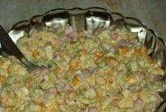 Mišrainė su kumpiu ir majonezu