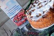 """Kalėdų pyragas su kriaušėmis ir """"DanSukker"""" miltiniu cukrumi"""