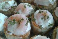 Krevečių užkandėlė su majonezu