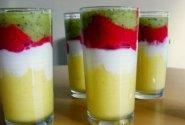 Vaisių ir jogurto desertas