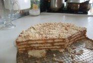 Nekeptas obuolių pyragas(nesaldus)