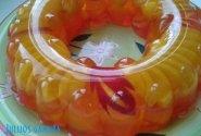 Želė su vaisiais